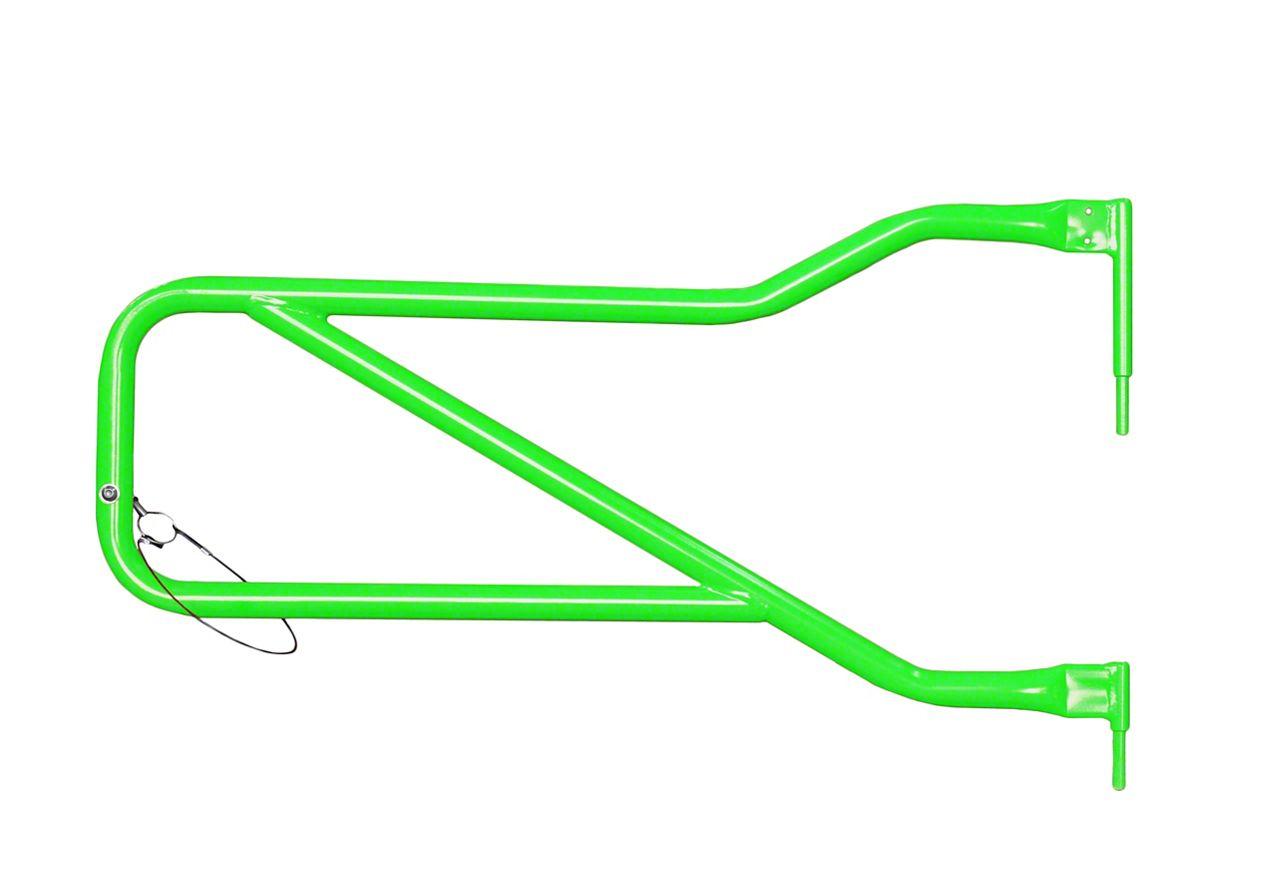 Steinjager Front Trail Tube Doors - Neon Green (07-18 Jeep Wrangler JK)