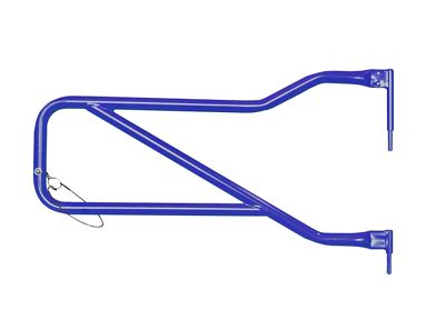 Steinjager Front Trail Tube Doors - Southwest Blue (07-18 Jeep Wrangler JK)