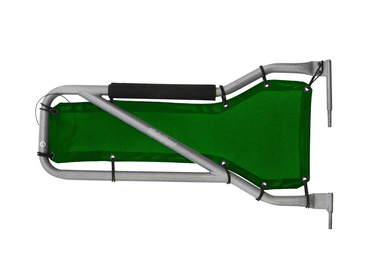 Steinjager Front Tube Door Mesh Covers - Spruce Green (07-18 Jeep Wrangler JK)