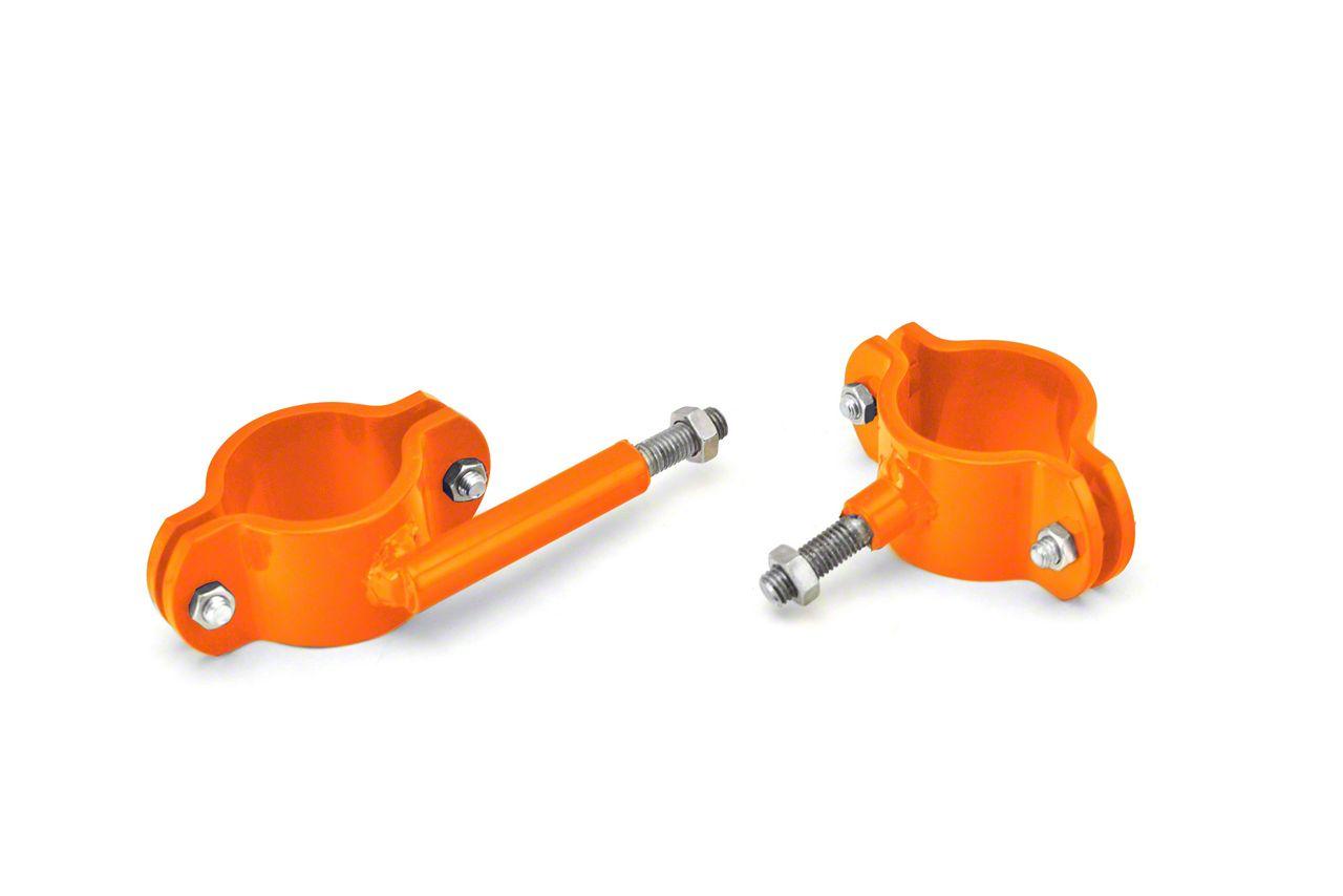 Steinjager High Lift Roll Bar Mount Kit - Fluorescent Orange (97-06 Jeep Wrangler TJ, Excluding Unlimited)
