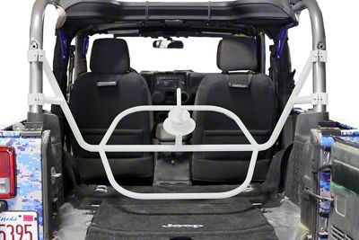 Steinjager Internal Spare Tire Carrier - Cloud White (07-18 Jeep Wrangler JK 2 Door)