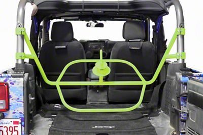 Steinjager Internal Spare Tire Carrier - Gecko Green (07-18 Jeep Wrangler JK 2 Door)