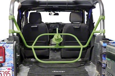 Steinjager Internal Spare Tire Carrier - Locas Green (07-18 Jeep Wrangler JK 2 Door)