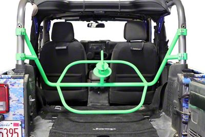 Steinjager Internal Spare Tire Carrier - Neon Green (07-18 Jeep Wrangler JK 2 Door)
