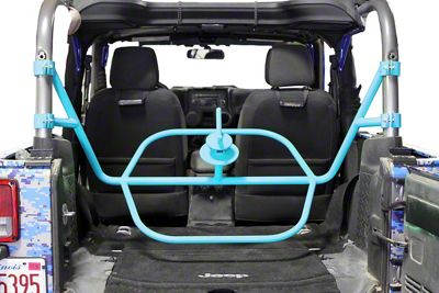 Steinjager Internal Spare Tire Carrier - Playboy Blue (07-18 Jeep Wrangler JK 2 Door)