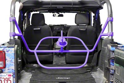 Steinjager Internal Spare Tire Carrier - Sinbad Purple (07-18 Jeep Wrangler JK 2 Door)