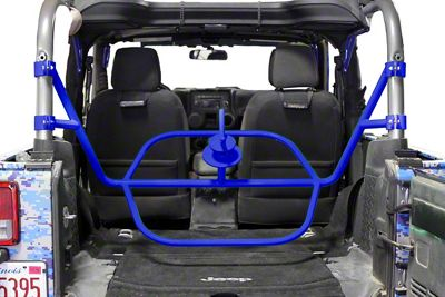 Steinjager Internal Spare Tire Carrier - Southwest Blue (07-18 Jeep Wrangler JK 2 Door)