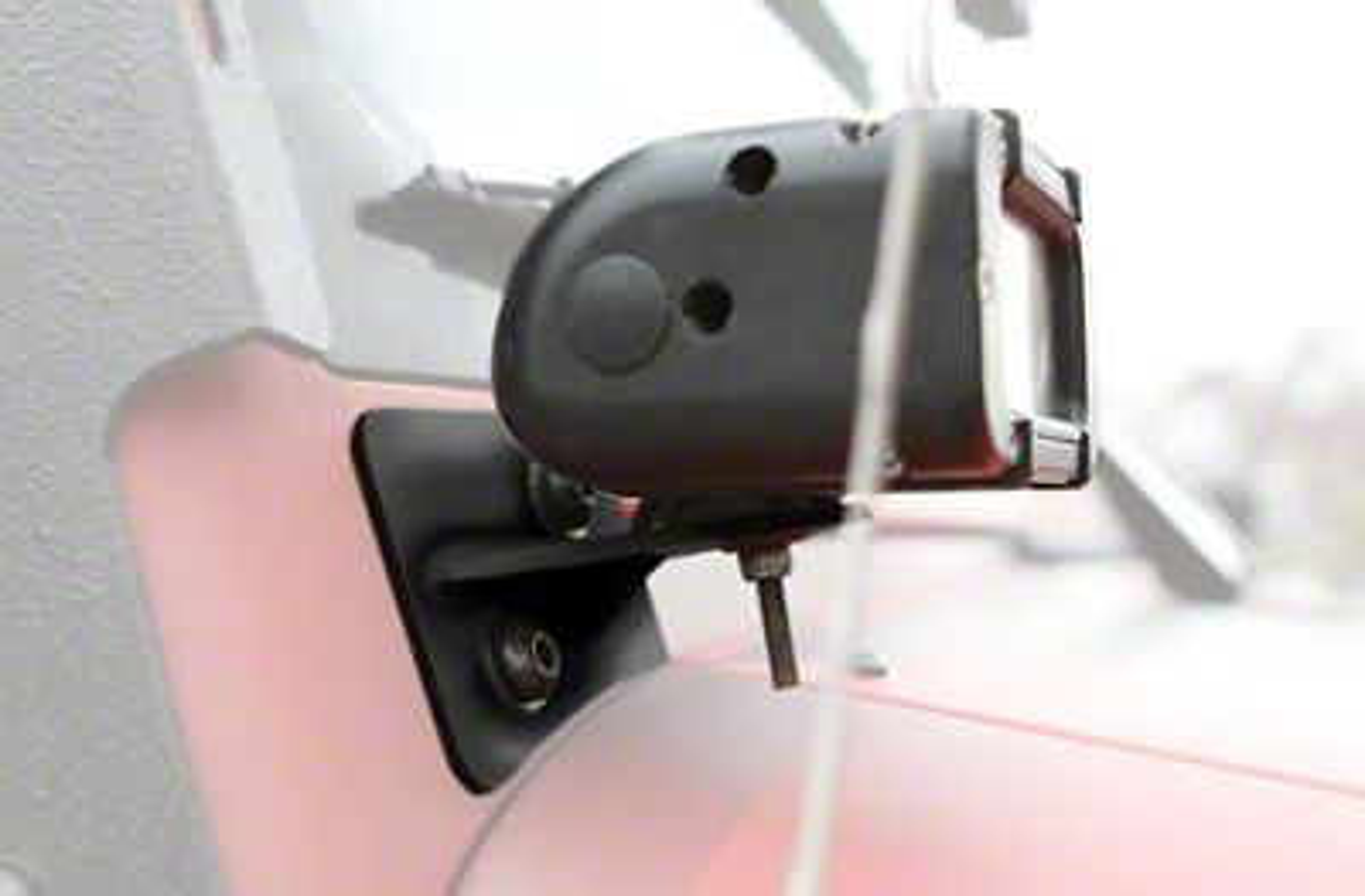 Steinjager LED Light Bars w/ A-Pillar Mounting Brackets - Bare Metal (07-18 Jeep Wrangler JK)