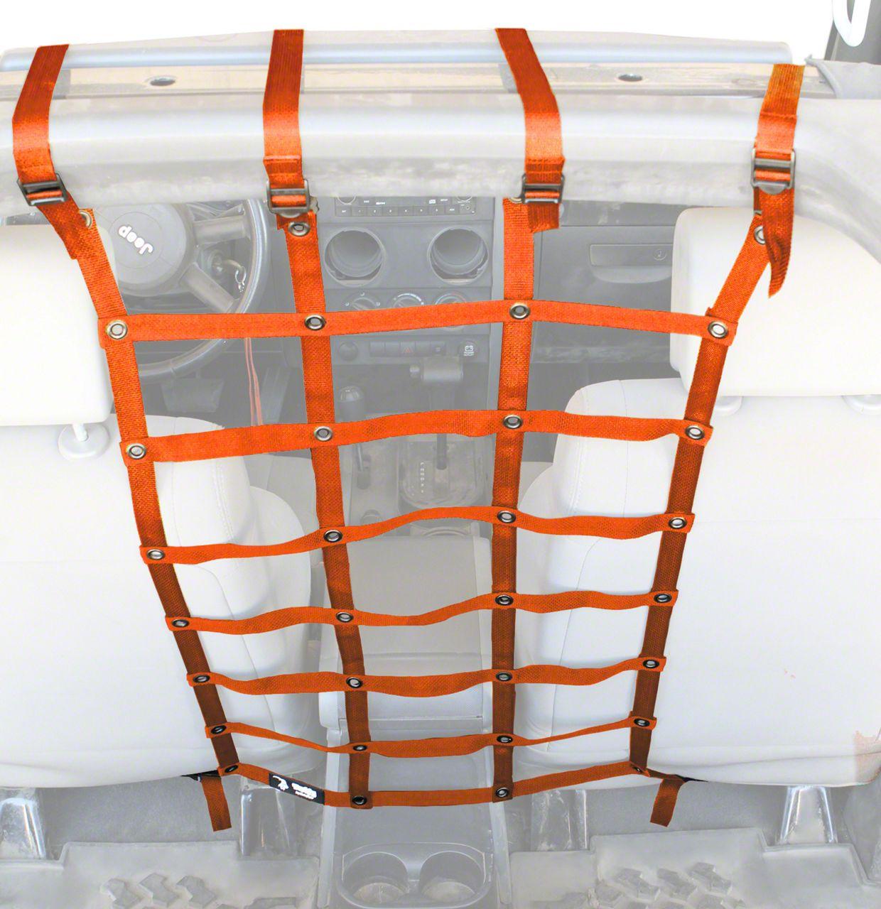 Steinjager Pet Partition - Orange (07-18 Jeep Wrangler JK 4 Door)