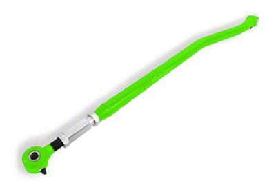 Steinjager Adjustable Rear Panhard Bar for 3-6 in. Lift - Neon Green (97-06 Jeep Wrangler TJ)