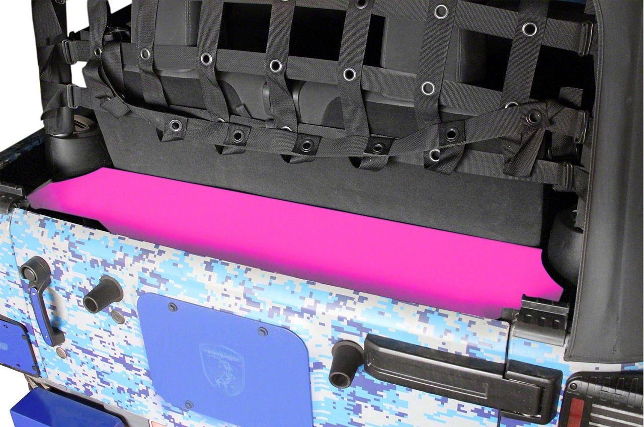 Steinjager Rear Storage Box - Hot Pink (07-18 Jeep Wrangler JK 2 Door)