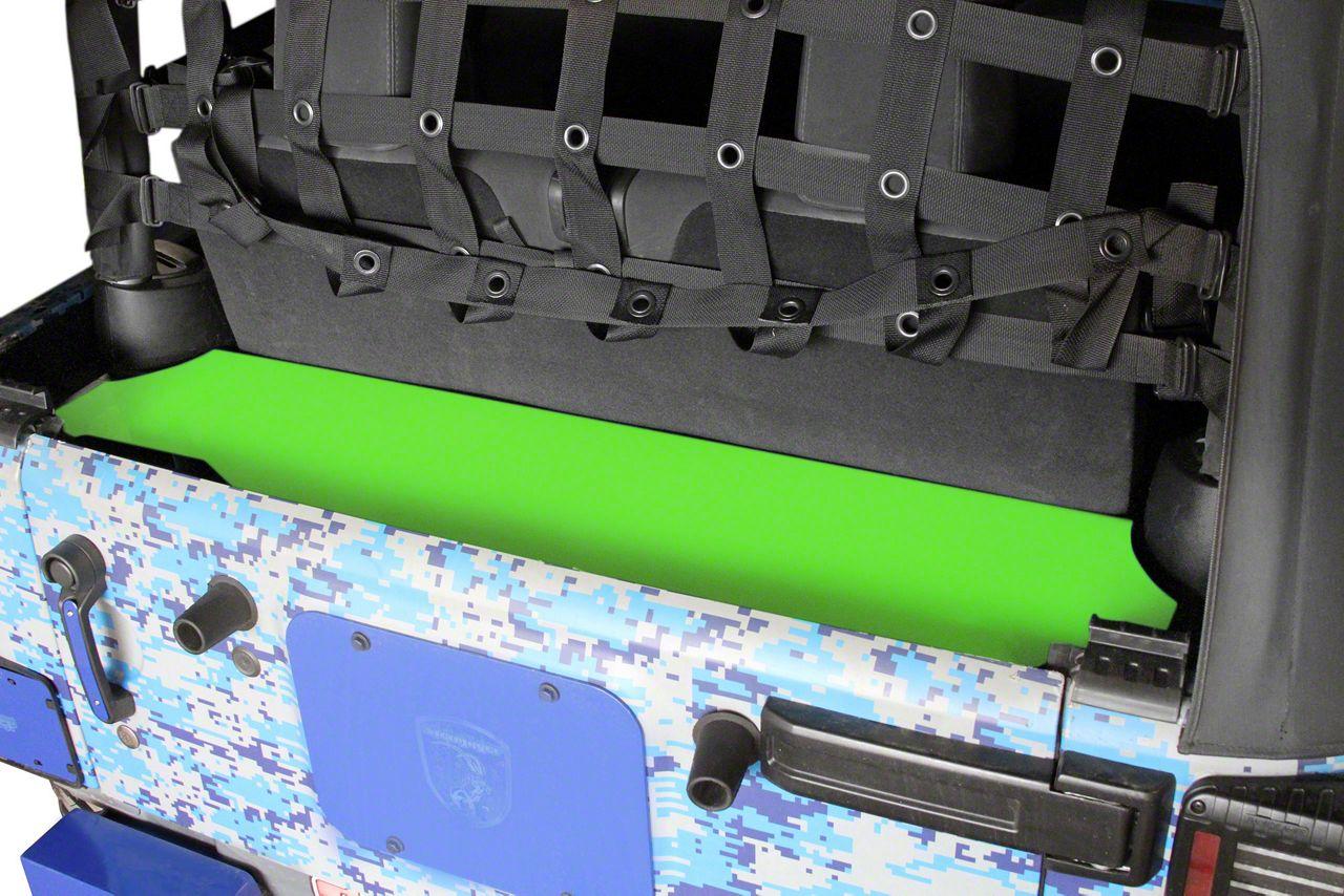 Steinjager Rear Storage Box - Neon Green (07-18 Jeep Wrangler JK 2 Door)