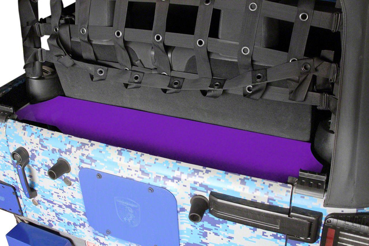 Steinjager Rear Storage Box - Sinbad Purple (07-18 Jeep Wrangler JK 2 Door)