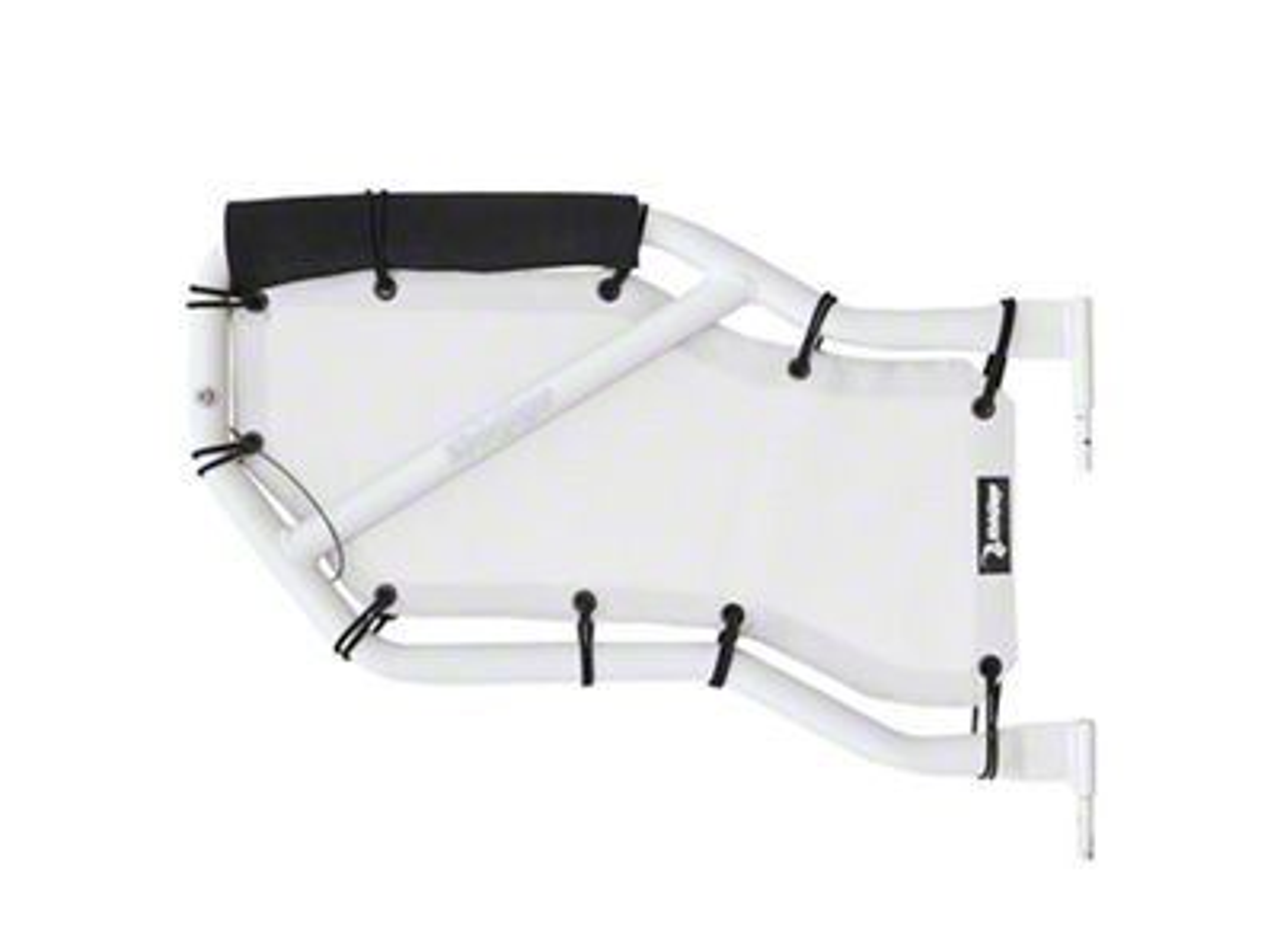 Steinjager Rear Tube Door Covers - White (07-18 Jeep Wrangler JK 4 Door)
