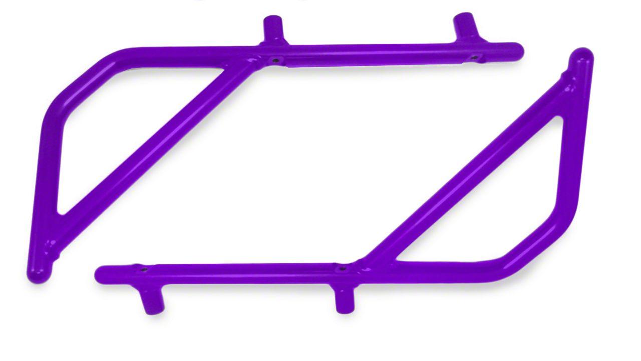 Steinjager Rigid Wire Form Rear Grab Handles - Sinbad Purple (07-18 Jeep Wrangler JK 2 Door)