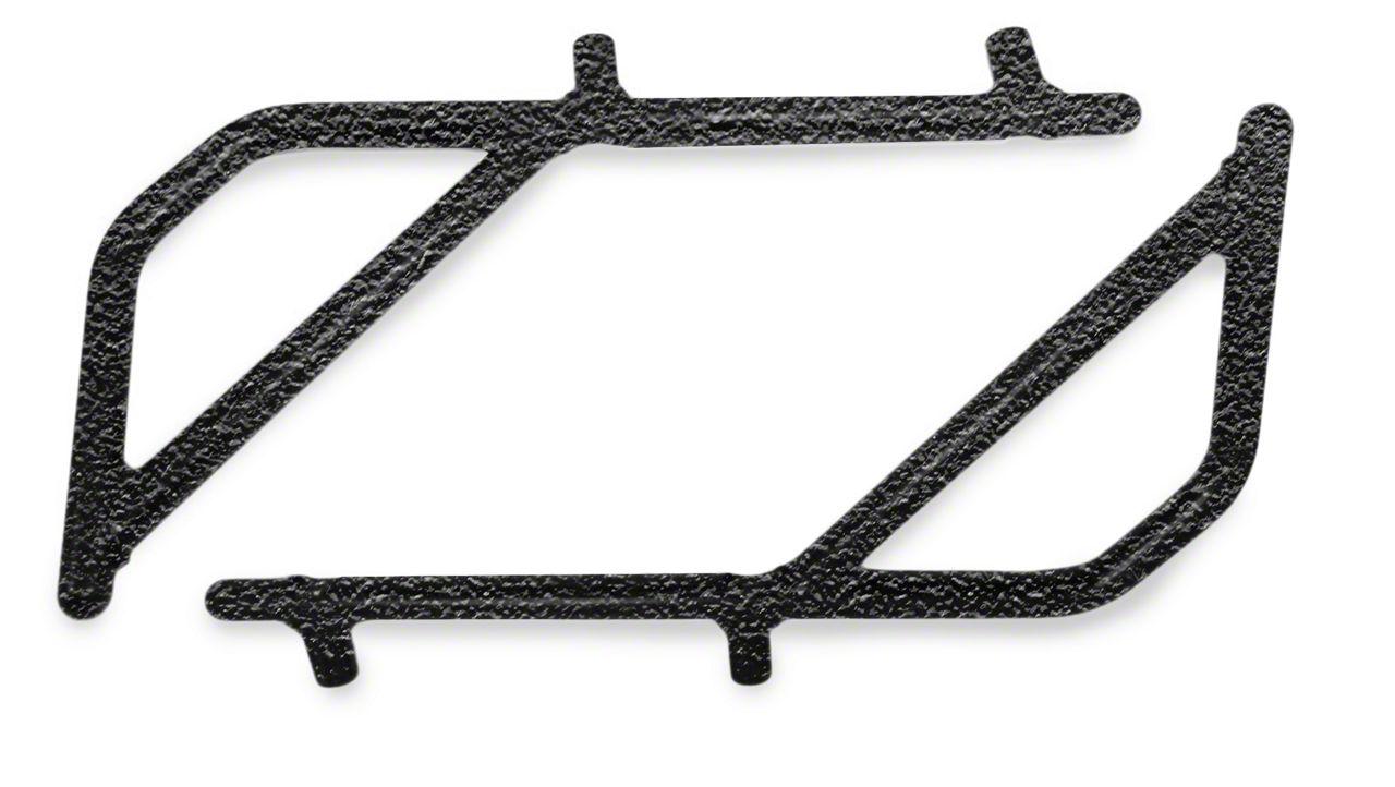 Steinjager Rigid Wire Form Rear Grab Handles - Textured Black (07-18 Jeep Wrangler JK 2 Door)