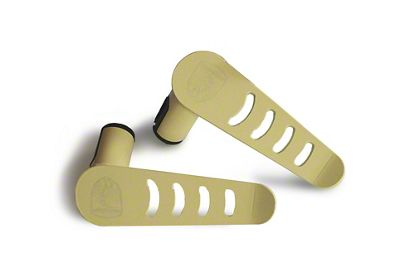 Steinjager Stationary Foot Pegs - Military Beige (07-18 Jeep Wrangler JK)