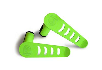 Steinjager Stationary Foot Pegs - Neon Green (07-18 Jeep Wrangler JK)