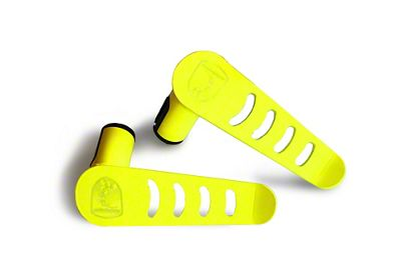 Steinjager Stationary Foot Pegs - Neon Yellow (07-18 Jeep Wrangler JK)