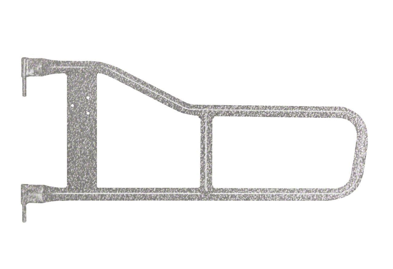 Steinjager Trail Tube Doors - Gray Hammertone (97-06 Jeep Wrangler TJ)