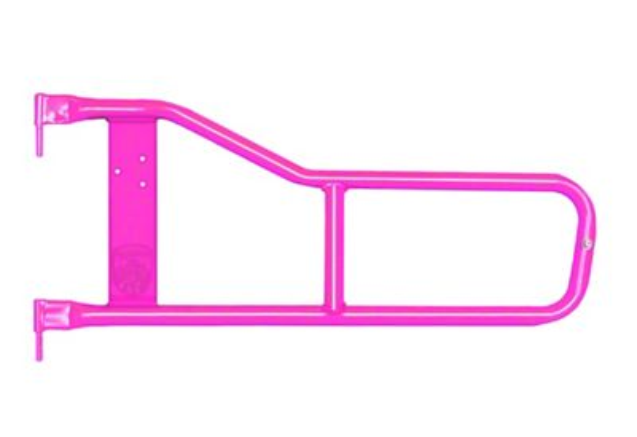 Steinjager Trail Tube Doors - Hot Pink (97-06 Jeep Wrangler TJ)
