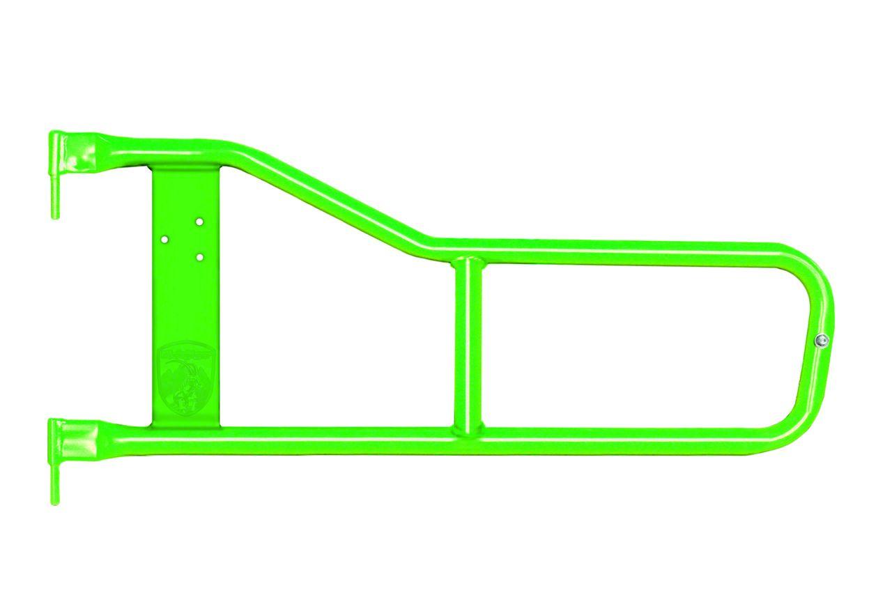 Steinjager Trail Tube Doors - Neon Green (97-06 Jeep Wrangler TJ)