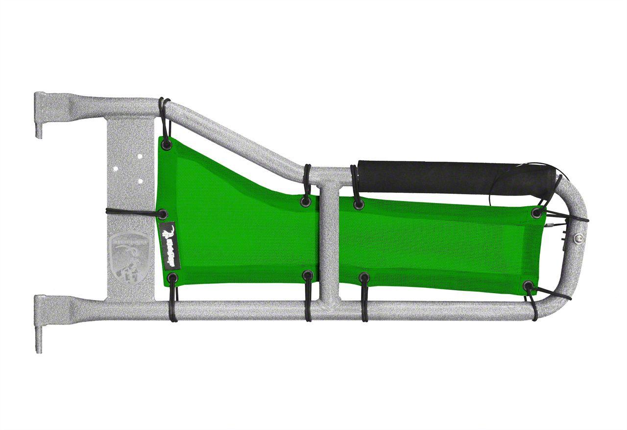 Steinjager Tube Door Covers - Green (97-06 Jeep Wrangler TJ)