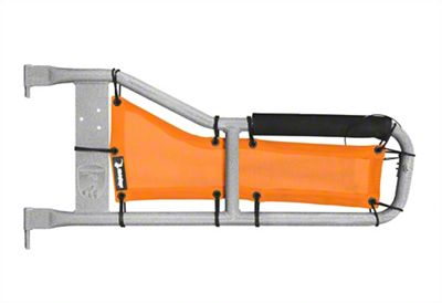 Steinjager Tube Door Covers - Orange (87-95 Jeep Wrangler YJ)