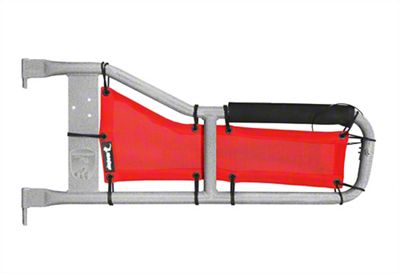 Steinjager Tube Door Covers - Red (87-95 Jeep Wrangler YJ)