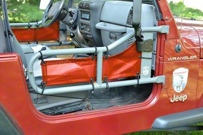 Steinjager Tube Door Covers - Salsa (87-95 Jeep Wrangler YJ)