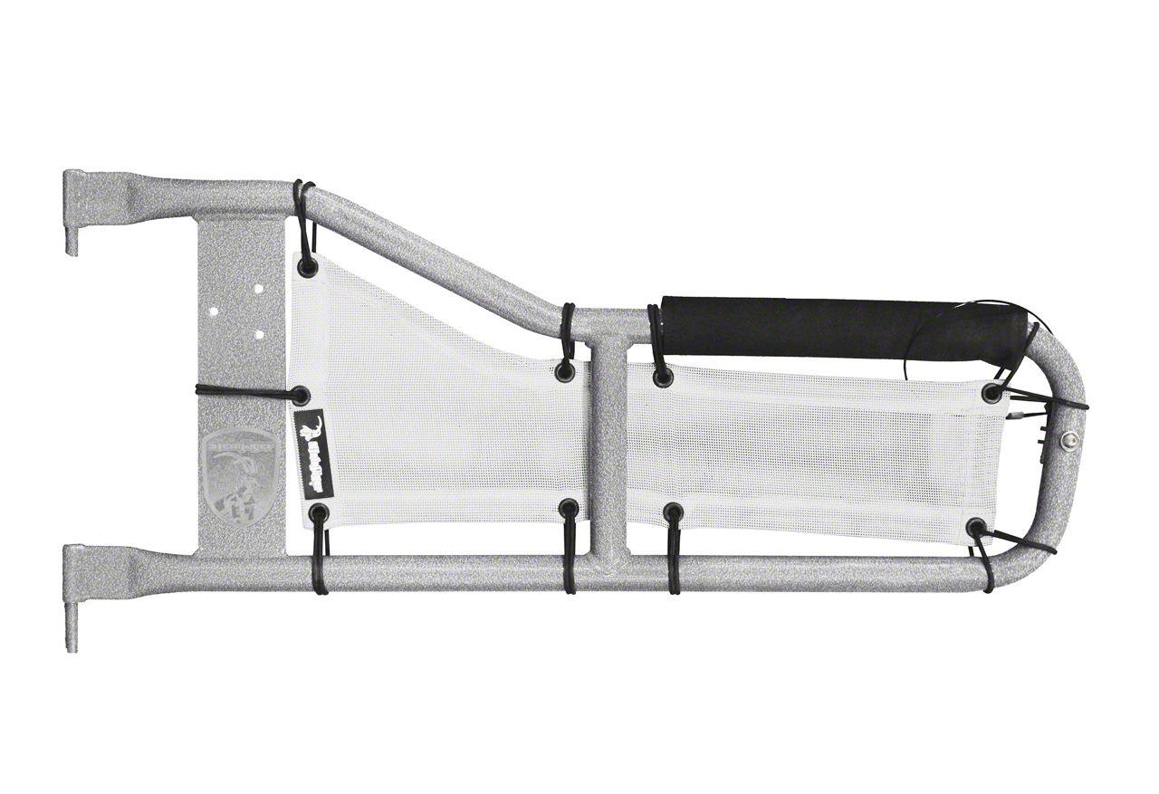 Steinjager Tube Door Covers - White (97-06 Jeep Wrangler TJ)