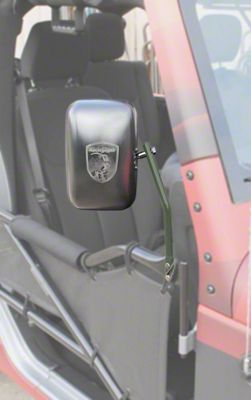 Steinjager Tube Door Mirror Kit - Locas Green (07-18 Jeep Wrangler JK)