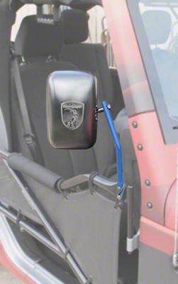 Steinjager Tube Door Mirror Kit - Playboy Blue (07-18 Jeep Wrangler JK)