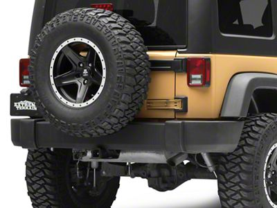 Crown Automotive Rear Bumper (07-18 Jeep Wrangler JK)