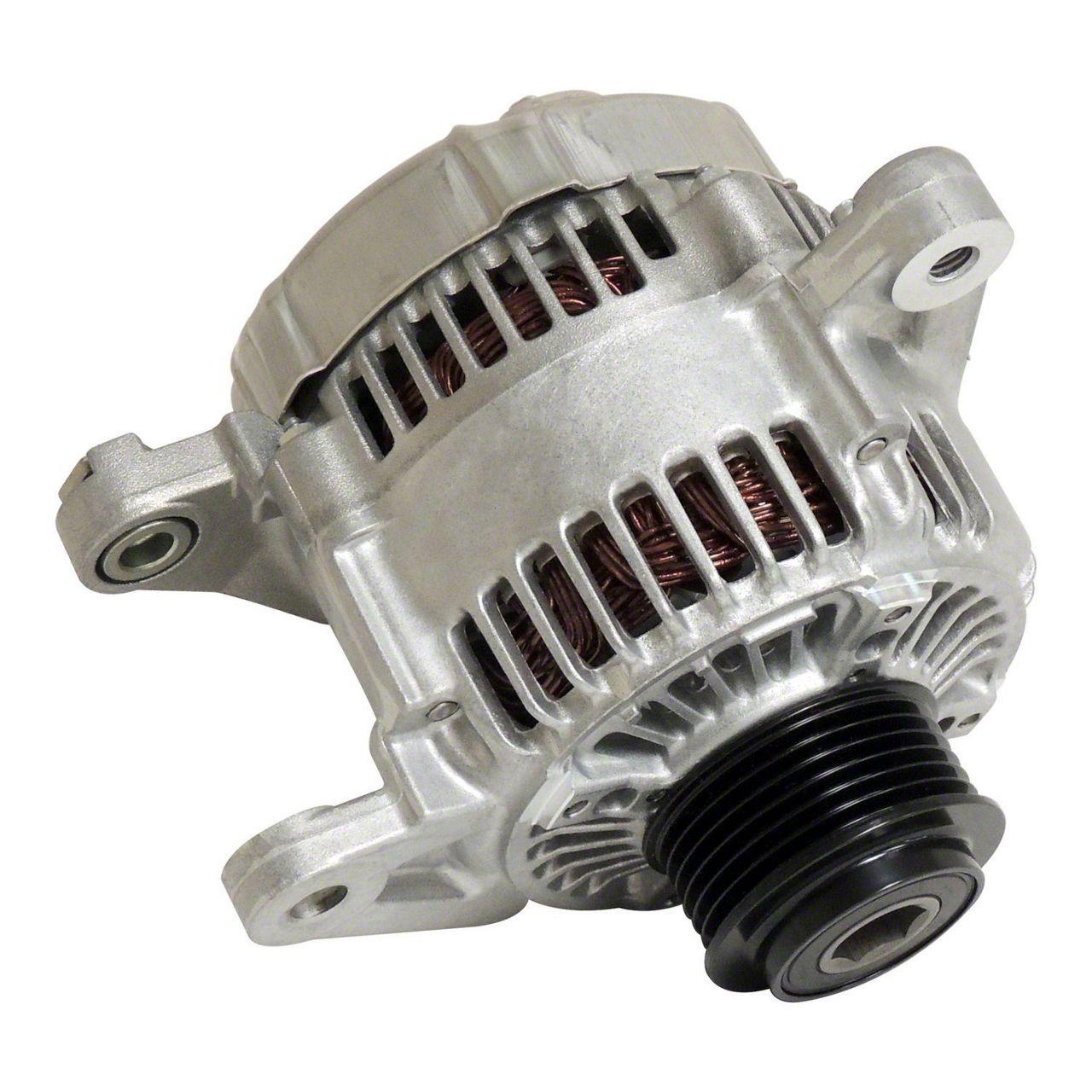Omix-ADA Alternator - 124 AMP (03-06 2.4L Jeep Wrangler TJ)