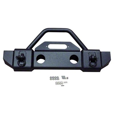 RT Off-Road Stubby Recovery Front Bumper (07-18 Jeep Wrangler JK)