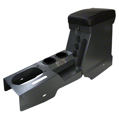 RT Off-Road Locking Center Console - Gray (07-10 Jeep Wrangler JK w/ Manual Transmission)