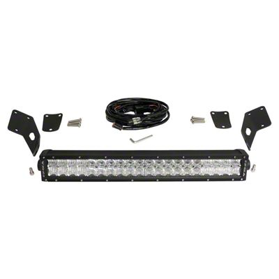 RT Off-Road 21.5 in. LED Light Bar w/ Hood Mounting Brackets (97-06 Jeep Wrangler TJ)