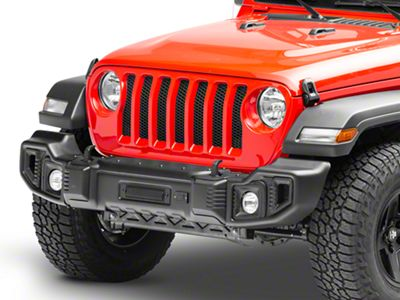 Rugged Ridge Spartacus Front Bumper - Satin Black (18-19 Jeep Wrangler JL)