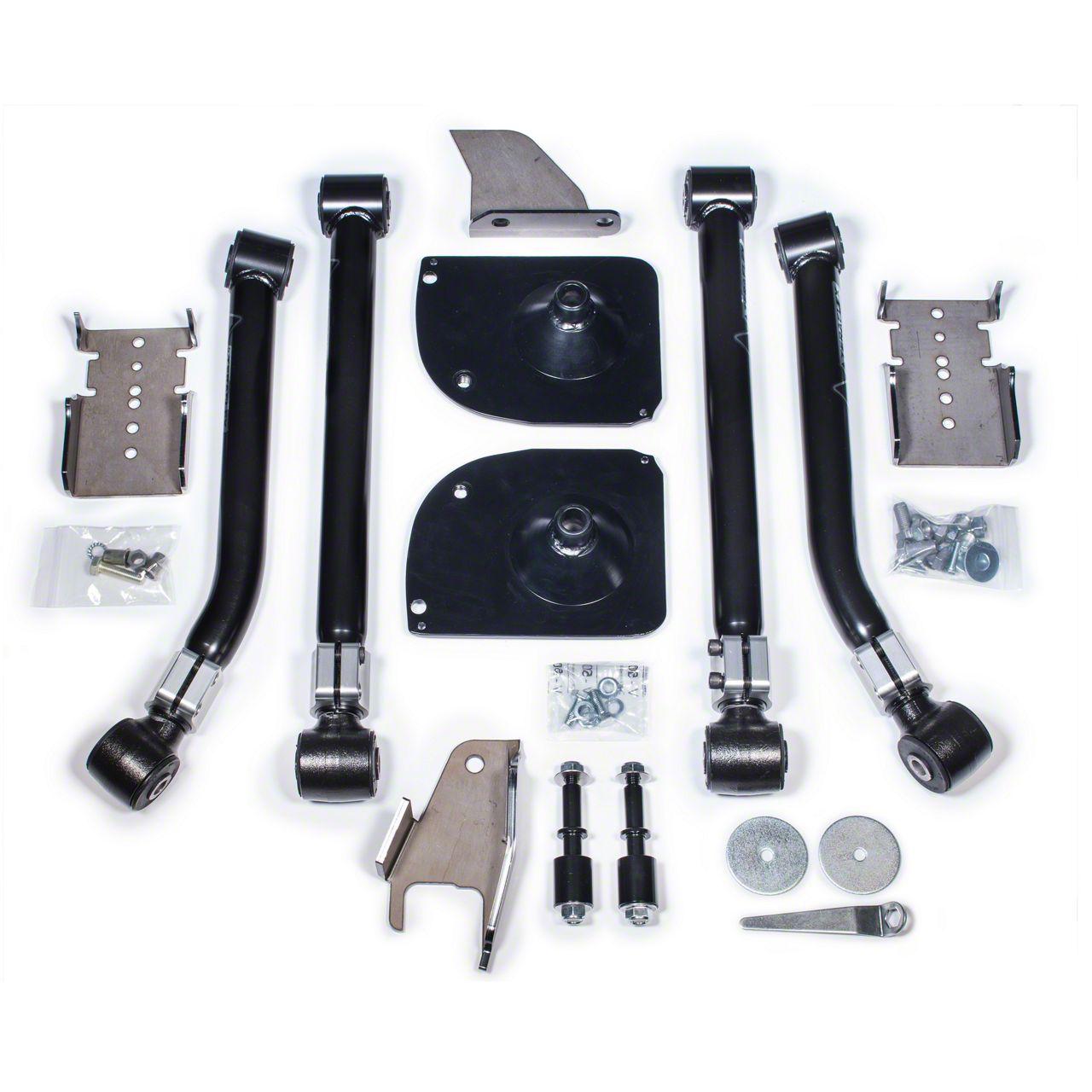 Teraflex 2 in. Rear Stretch Kit (07-18 Jeep Wrangler JK)