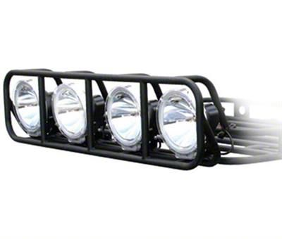 Smittybilt 4 ft. Defender Roof Rack Lift Cage (87-19 Jeep Wrangler YJ, TJ, JK & JL)