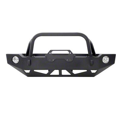 Smittybilt Bull Bar for Carbine Bumper (07-18 Jeep Wrangler JK)