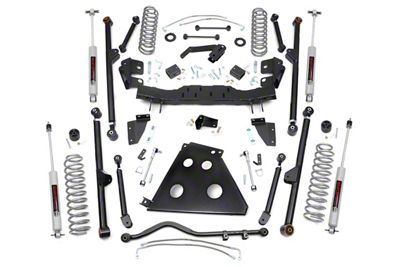 Rough Country 4 in. X-Series Long Arm Suspension Lift Kit (12-18 Jeep Wrangler JK 2 Door)