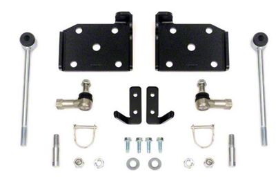 Rough Country Front Sway Bar Quick Disconnects for 4-6 in. Lift (87-95 Jeep Wrangler YJ)