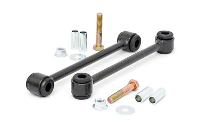 Rough Country Rear Sway Bar End Links for 4 in. Lift (87-95 Jeep Wrangler YJ)