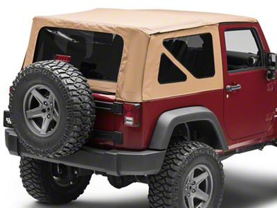 Rough Country Replacement Soft Top - Spice (10-18 Jeep Wrangler JK 2 Door)