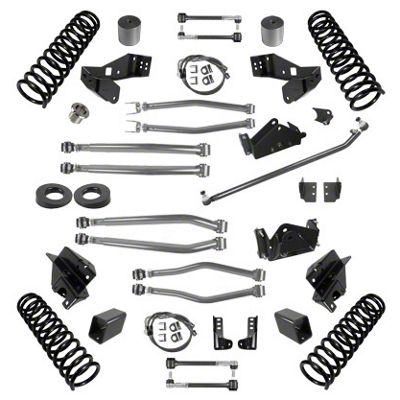Synergy 3 in. Long Arm Suspension Lift Kit for Right Hand Drive - Stage 4 (07-18 Jeep Wrangler JK 4 Door)