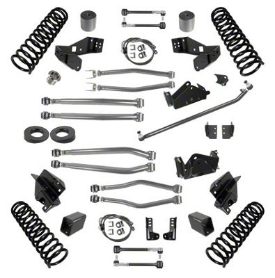 Synergy 3 in. Long Arm Suspension Lift Kit for Right Hand Drive - Stage 4 (07-18 Jeep Wrangler JK 2 Door)
