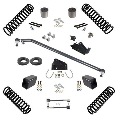 Synergy 3 in. Suspension Lift Kit for Right Hand Drive - Stage 1.5 (07-18 Jeep Wrangler JK 4 Door)