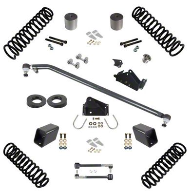 Synergy 3 in. Suspension Lift Kit for Right Hand Drive - Stage 1.5 (07-18 Jeep Wrangler JK 2 Door)